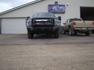 Throttle Down Kustoms - 2011-2016 Ford Super Duty Bumper Grille Guard - Image 15