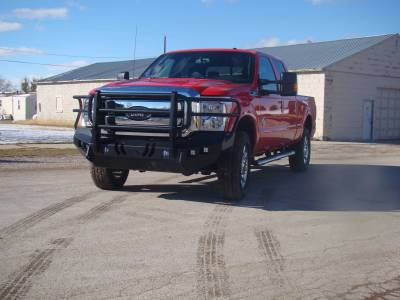 Throttle Down Kustoms - 2011-2016 Ford Super Duty Bumper Grille Guard - Image 6