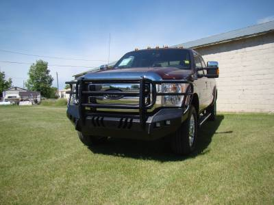 Throttle Down Kustoms - 2011-2016 Ford Super Duty Bumper Grille Guard - Image 17