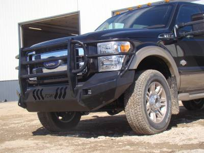 Throttle Down Kustoms - 2011-2016 Ford Super Duty Bumper Grille Guard - Image 16