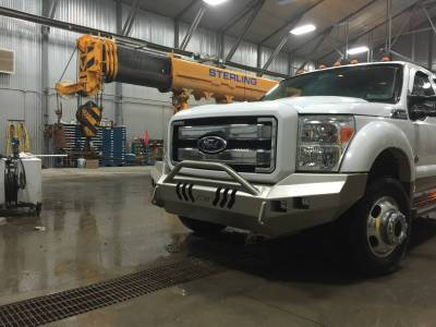 Ford - Push Bar - Throttle Down Kustoms - 2011-2016 Ford Super Duty Push Bar