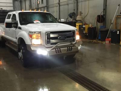 Throttle Down Kustoms - 2011-2016 Ford Super Duty Push Bar - Image 3
