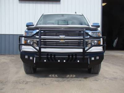 Throttle Down Kustoms - 2014-2015 Chevrolet 1500 Bumper Grille Guard - Image 2