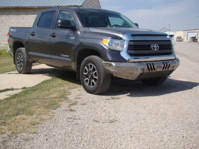 Toyota - Bumper - Throttle Down Kustoms - 2014-2019 Toyota Tundra Bumper