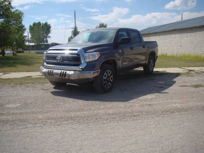 Throttle Down Kustoms - 2014-2019 Toyota Tundra Bumper - Image 2
