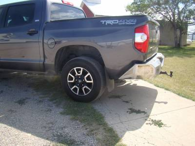 Throttle Down Kustoms - 2014-2020 Toyota Tundra Rear Bumper - Image 3