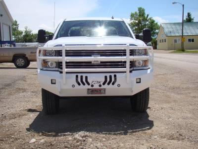 Throttle Down Kustoms - 2015-2019 Chevrolet HD Bumper Grille Guard - Image 9