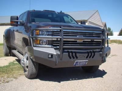Throttle Down Kustoms - 2015-2019 Chevrolet HD Bumper Grille Guard - Image 10