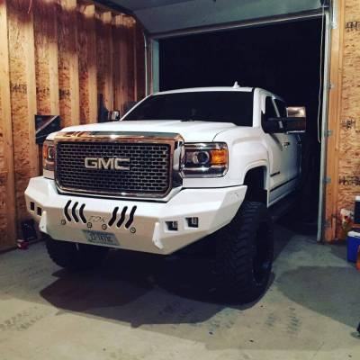 GMC - Bumper - Throttle Down Kustoms - 2015-2019 GMC HD Bumper