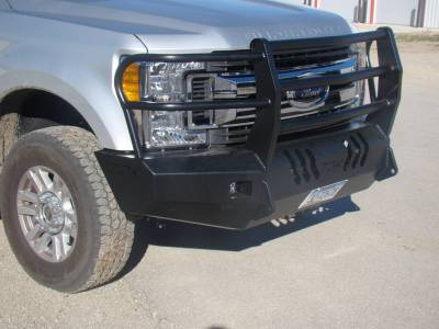 Throttle Down Kustoms - 2017-2019 Ford Super Duty Bumper Grille Guard - Image 8
