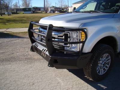 Throttle Down Kustoms - 2017-2019 Ford Super Duty Bumper Grille Guard - Image 10