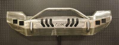 Throttle Down Kustoms - 2011-2016 Ford Super Duty Push Bar - Image 5