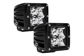 Bumper Accessories - LED Lights  - Rigid Industries  - Rigid Dually Spot Light Set 20221