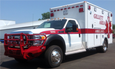 Gillett Area Ambulance Service, Inc. Cover