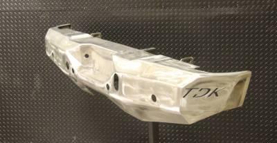 Throttle Down Kustoms - 2007-2013 GMC 1500 Rear Bumper - Image 5