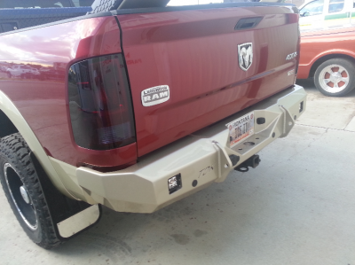 Dodge Rear Bumpers Cover