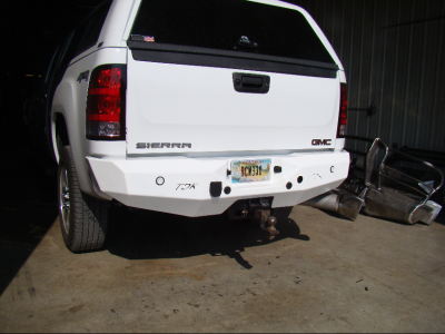 GMC Rear Bumper Cover