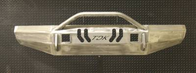 Throttle Down Kustoms - 2008-2010 Ford Super Duty Push Bar - Image 4