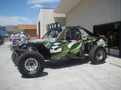 Custom Fab  - Truggy  - Throttle Down Kustoms - Truggy