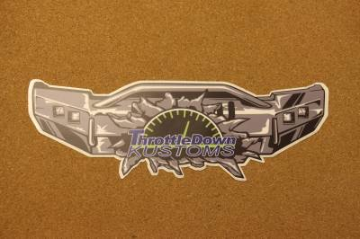 Apparel - TDK Apparel  - Throttle Down Kustoms - Throttle Down Kustoms Sticker