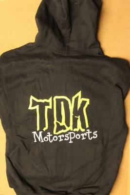 Throttle Down Kustoms - TDK Motorsports Hooded Sweat Shirt - Image 1