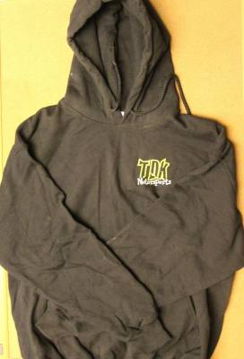 Throttle Down Kustoms - TDK Motorsports Hooded Sweat Shirt - Image 2