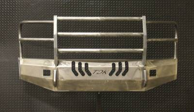 Throttle Down Kustoms - 2017-2019 Ford Super Duty Bumper Grille Guard - Image 3