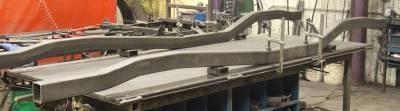 Frames - Throttle Down Kustoms - Bronco Frame Rails