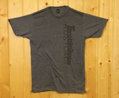 Apparel - TDK Apparel  - Throttle Down Kustoms - Throttle Down Kustoms T Shirt Charcoal