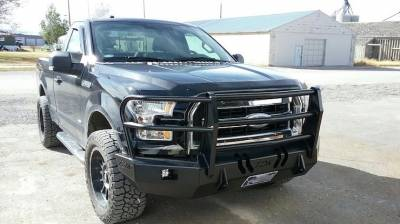 Throttle Down Kustoms - 2015-2017 Ford F150 Bumper Grille Guard - Image 8