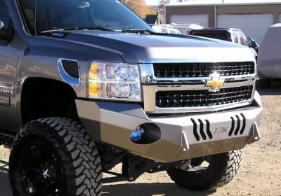 Throttle Down Kustoms - 2015-2019 Chevrolet HD Bumper - Image 3