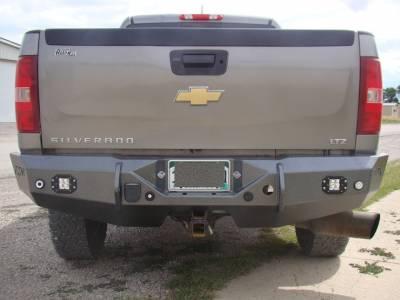 Throttle Down Kustoms - 2011-2014 Chevrolet Rear Bumper - Image 2