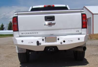 Throttle Down Kustoms - 2015-2019 Chevrolet Rear Bumper - Image 2