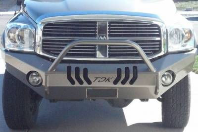 Throttle Down Kustoms - 2006-2008 Dodge Push Bar 1500 - Image 1