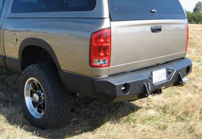 Throttle Down Kustoms - 1994-2002 Dodge Rear Bumper