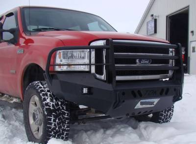 Ford - Bumper Grille Guard - Throttle Down Kustoms - 2005-2008 Ford F150 Bumper Grille Guard