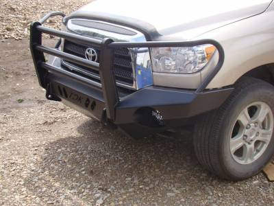Toyota - Bumper Grille Guard - Throttle Down Kustoms - 2007-2013 Toyota Tundra Grille Guard