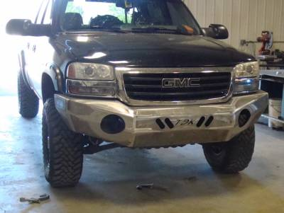 GMC - Bumper - Throttle Down Kustoms - 2003-2006 GMC HD Bumper