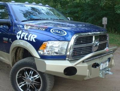 Dodge - Push Bar - Throttle Down Kustoms - 2010-2018 Dodge/Ram HD Push Bar