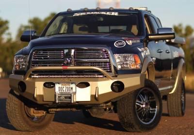 Throttle Down Kustoms - 2010-2018 Dodge/Ram HD Push Bar - Image 2