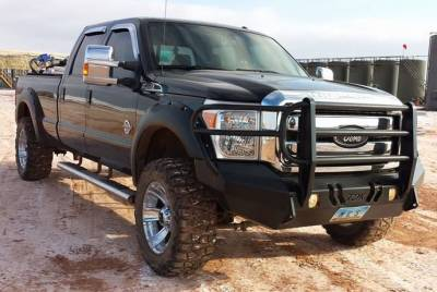 Throttle Down Kustoms - 2011-2016 Ford Super Duty Bumper Grille Guard - Image 8