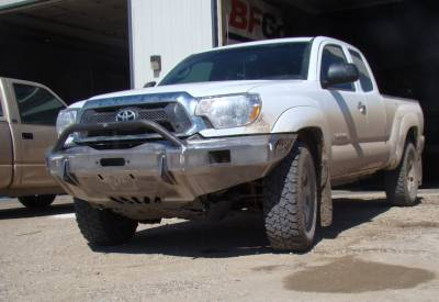 Throttle Down Kustoms - 2016-2019 Toyota Tacoma Push Bar - Image 2