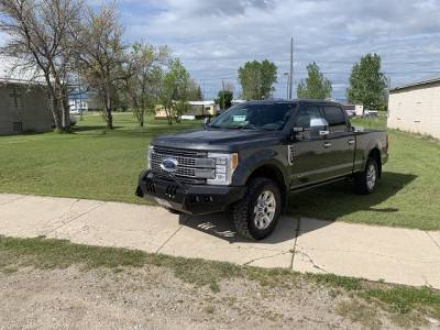 Throttle Down Kustoms - 2017-2019 Ford Super Duty Push Bar - Image 5