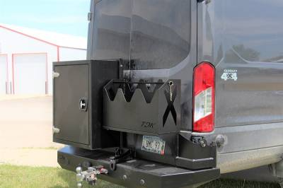 Throttle Down Kustoms - 2015-2020 Ford Transit Van Rear Bumper - Image 3