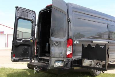 Throttle Down Kustoms - 2015-2020 Ford Transit Van Rear Bumper - Image 4