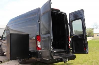 Throttle Down Kustoms - 2015-2020 Ford Transit Van Rear Bumper - Image 4