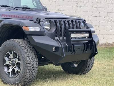 Jeep - Brush Guard - Throttle Down Kustoms - 2018-2020 Jeep JL/JLU Brush Guard