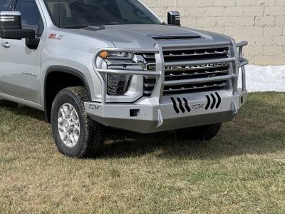Throttle Down Kustoms - 2020 Chevrolet HD Bumper Grille Guard - Image 4