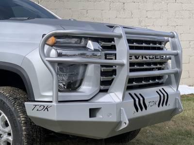 Throttle Down Kustoms - 2020 Chevrolet HD Bumper Grille Guard - Image 2