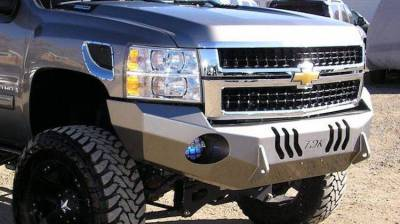Chevrolet - Bumper - Throttle Down Kustoms - 2015-2019 Chevrolet HD Bumper